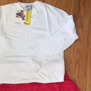 Long Sleeve White UV Protection T-shirt Women's S